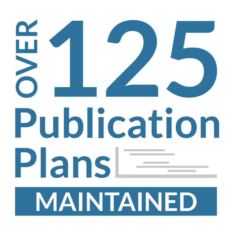 Over 125 Publication Plans
