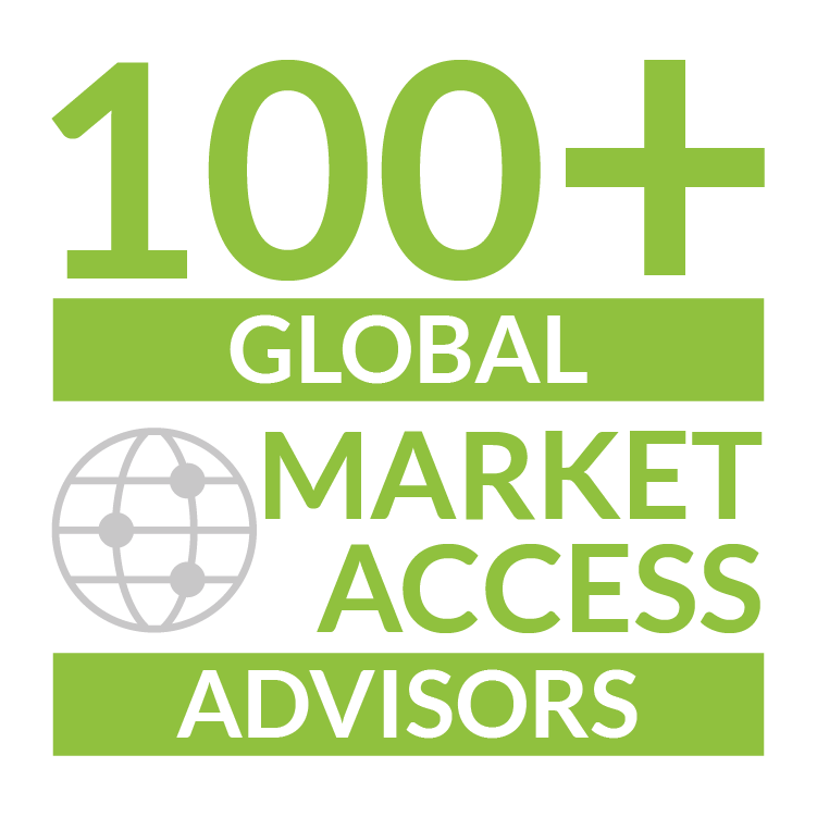 100+ Global Market Access Advisors